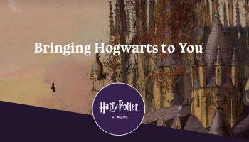 De magische wereld van Harry Potter at home